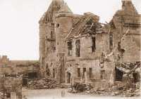 chateau-de-pernant-apres-bombardement-14-18