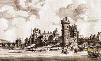 1666-Palais-ducal-de-Nevers-Tour-de-Nesle-Gravure