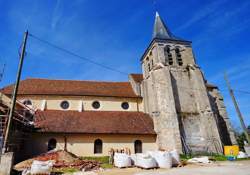 Eglise de Saint-Remi à Montévrain en Seine et Marne