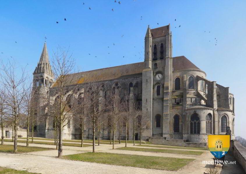 abbatiale saint nicolas de saint leu d 39 esserent oise 60 glises. Black Bedroom Furniture Sets. Home Design Ideas