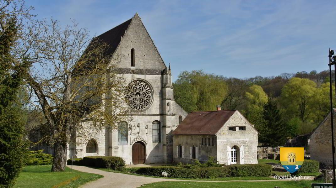Abbaye de lieu restaur oise 60 glises hauts de france glises difices religieux - Office de tourisme saint antoine l abbaye ...