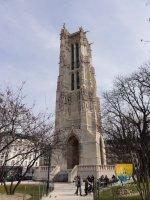 Tour saint jacques paris chapelle eglise basilique cath drale montjo - Tour saint jacques visite ...