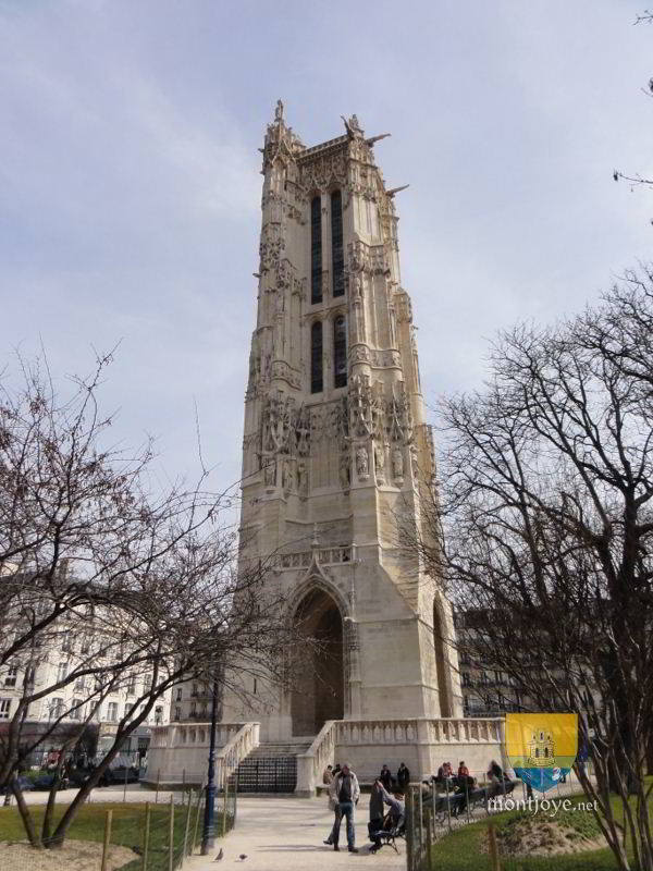 Tour saint jacques paris patrimoine de paris - Tour saint jacques paris ...