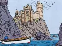 les-aventures-de-tintin-l-ile-noire-Lochranza