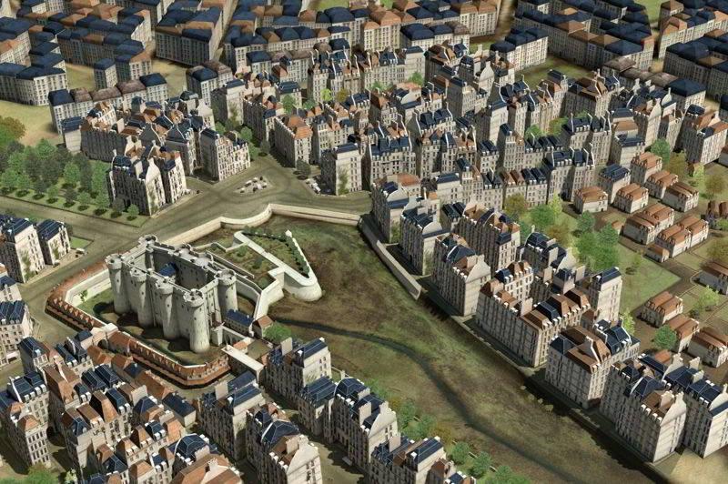 Forteresse & Prison de La Bastille - Les prises de la Bastille et le 14  juillet 1789 - montjoye.net