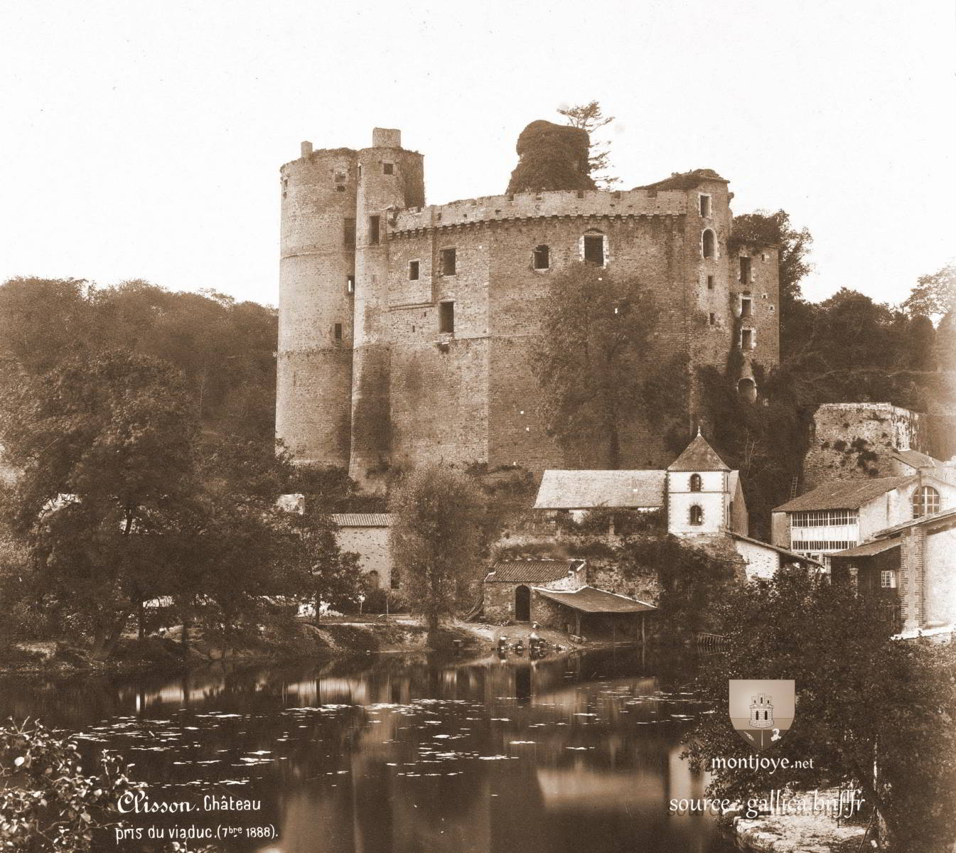 chateau de clisson 1888
