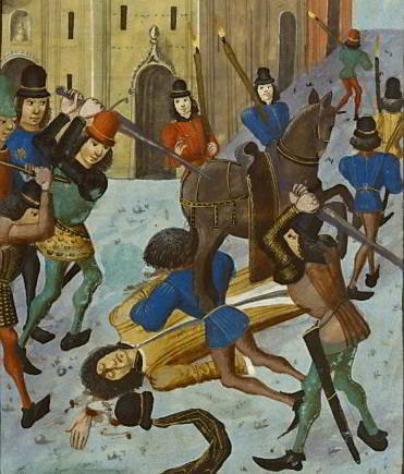Assassinat du Duc d'Orléans à Paris
