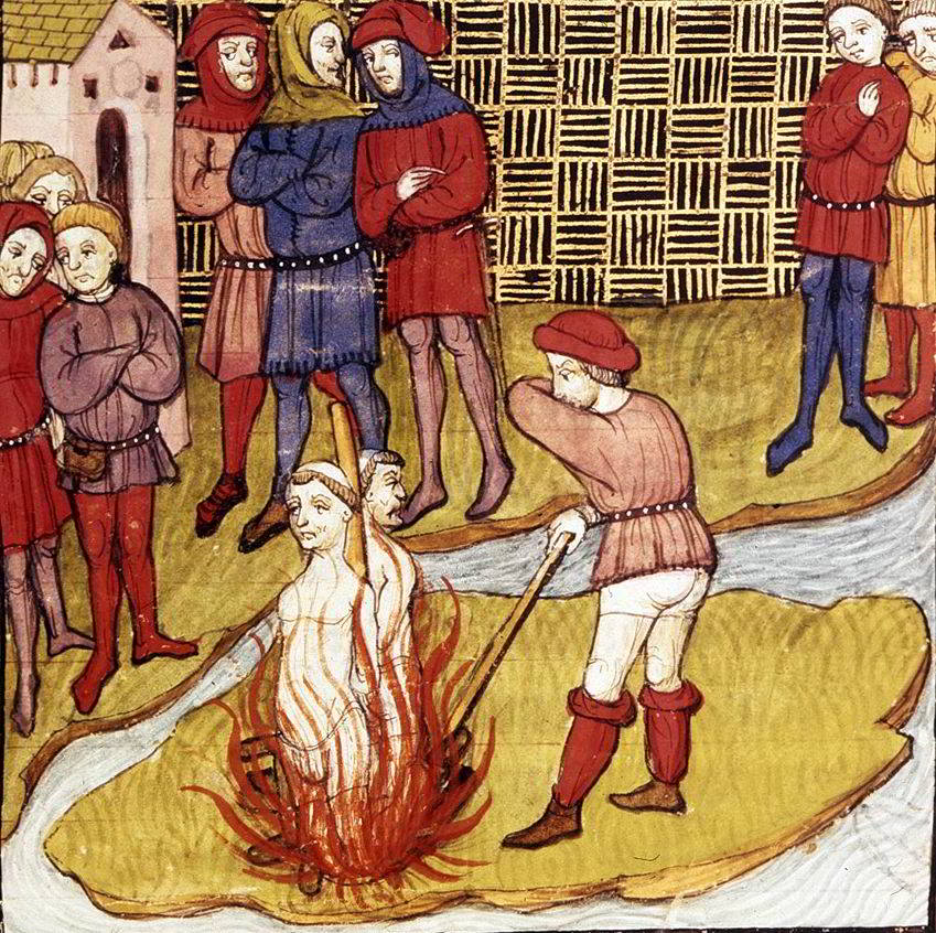 execution jacques de molay